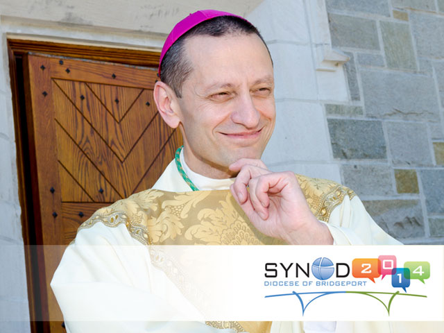 A photo of Bishop Frank Caggiano