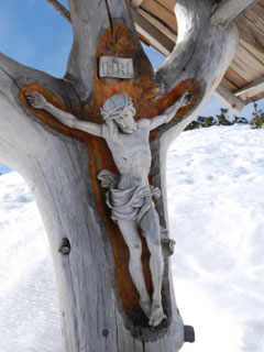 A photo of Christ on the Cross