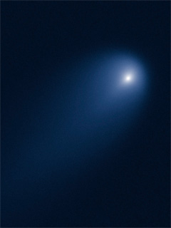 A photo of the comet ISON