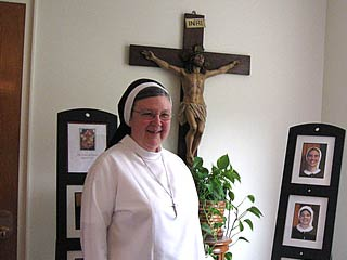 A photo of Mother Mary Clare Millea, A.S.C.J.