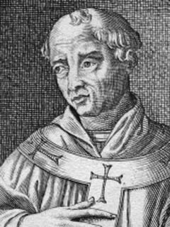 An image of Pope Sisinnius, the 87th Pope