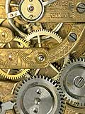 Photo of a clock gears