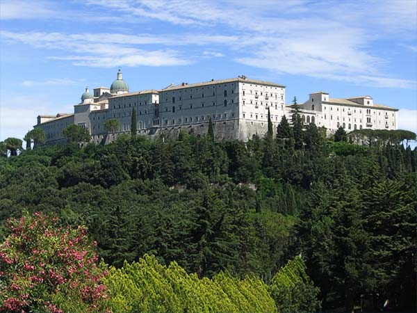 A photo of Monte Cassino