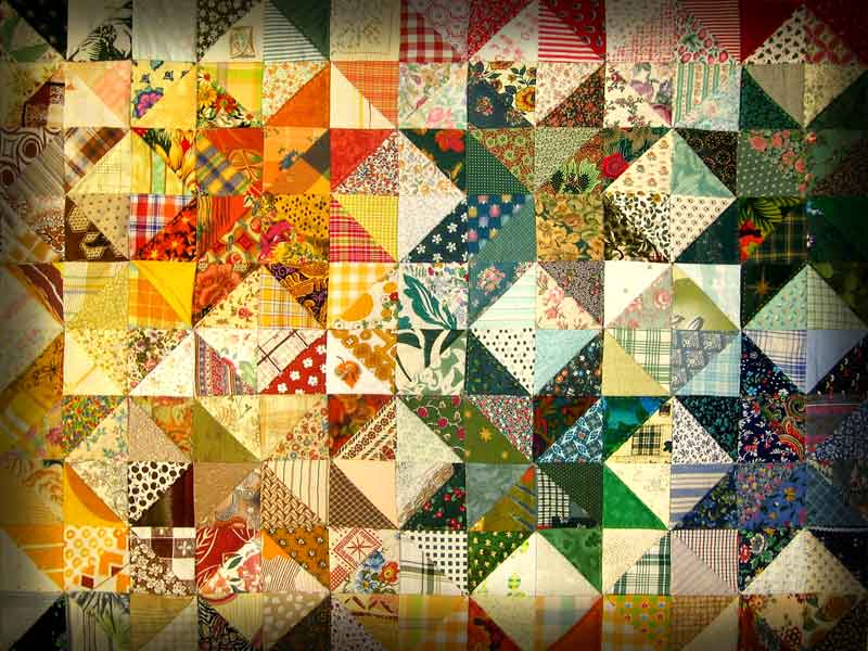 A photo of quilt