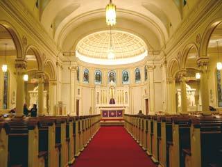 A photo of Saint Joseph Church in Danbury, CT