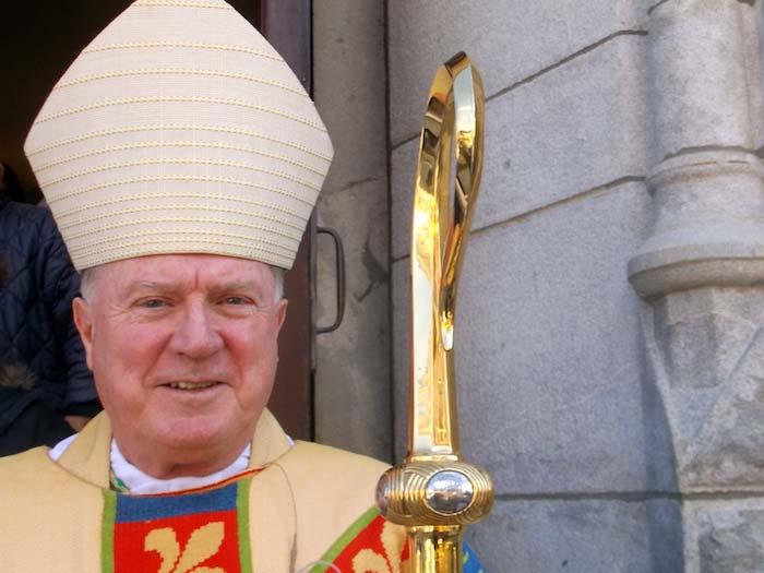 A photo a Roman Catholic Bishop